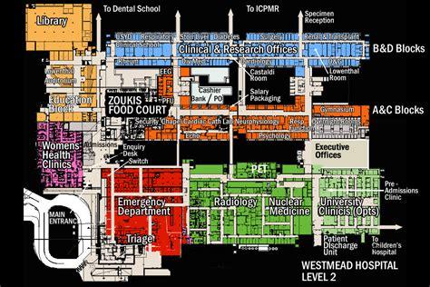 maps  floorplans wslhd