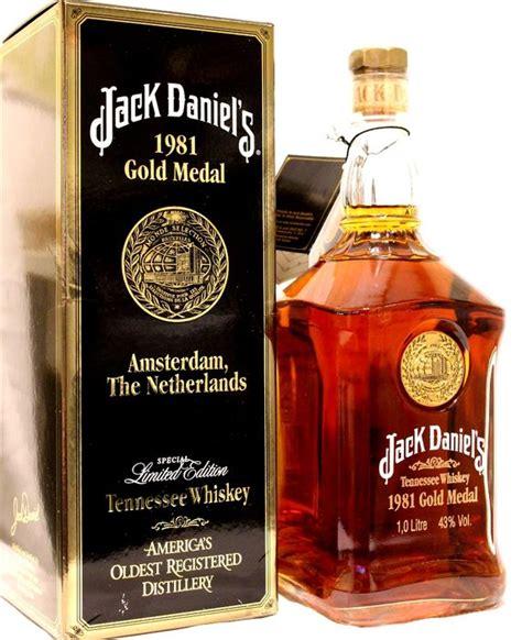 jack daniels  gold medal  litre  vol catawiki