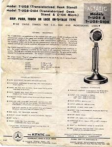Astatic D104 Base Microphone Info