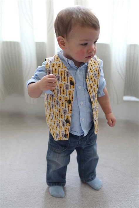 Baby Boy Vest Quality Sewing Tutorials Reversible Vest For Baby