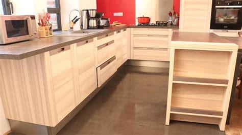 cuisine beton cire bois tout savoir sur le béton ciré décoratif