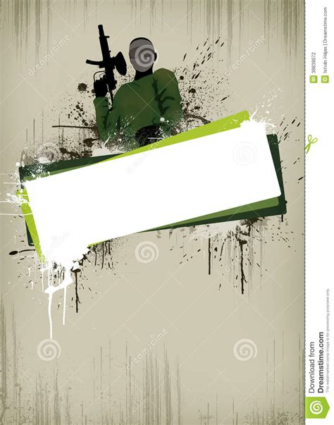 paintball  airsoft background stock photo image