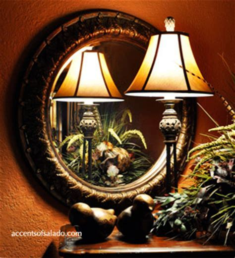 Tuscan Old World Style Mirrors