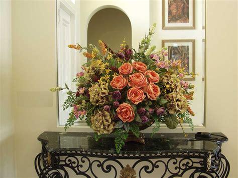 Dining Room Table Flower Arrangements Silk Flower