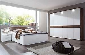 Schlafzimmer Komplett Weiß : calida von disselkamp schlafzimmer wei nussbaum komplett ~ Orissabook.com Haus und Dekorationen
