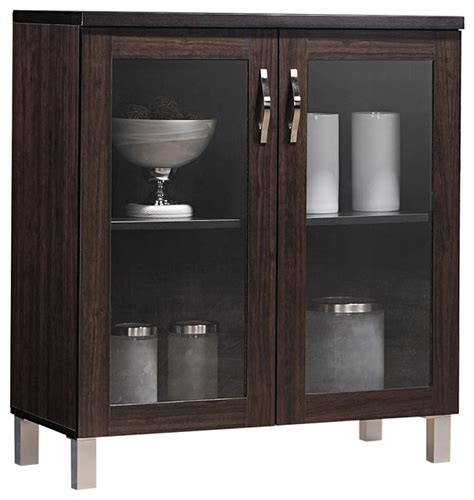 Glass Front Buffet Sideboard by Sintra And Brown Sideboard Storage Cabinet With Glass