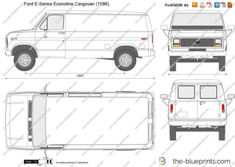Ford Econoline Cargo Van Interior Dimensions