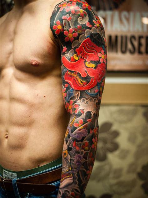 tengu irezumi japanese tattoo love  colors