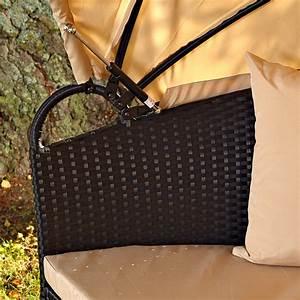 Sonneninsel Rattan Braun : sonneninsel mit tisch rattan polyrattan gartenmuschel sonnenliege braun schwarz ebay ~ Indierocktalk.com Haus und Dekorationen