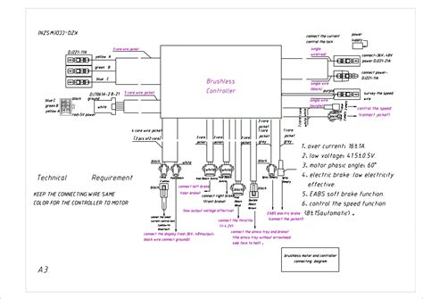 diagram mobility scooter wiring diagram
