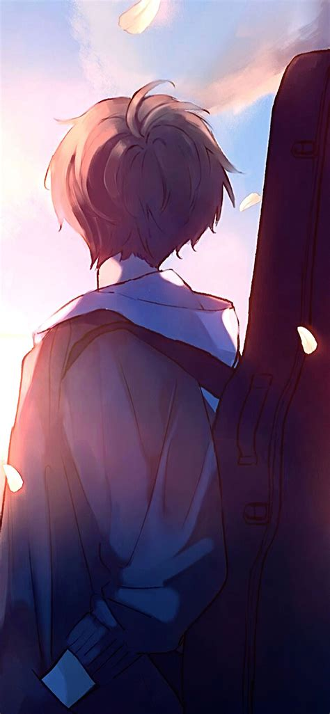 Anime boys, three anime boy character, png. Purple Anime Boy Wallpapers - Wallpaper Cave