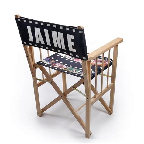personalized directors chair personalised directors chair custom print directors