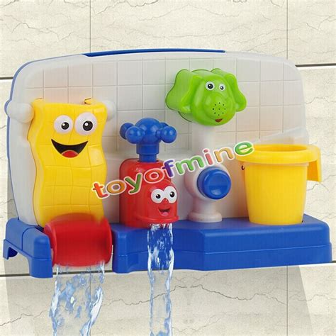 children bathing watertruck faucet spout cover baby tub