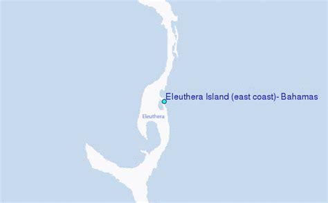 eleuthera island east coast bahamas tide station