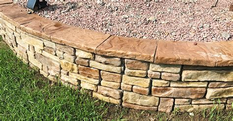 Retaining Wall Products by Garden Block Series Concrete Products