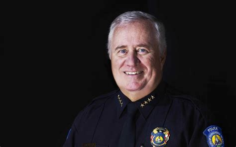 police chief sets  retirement date news leader