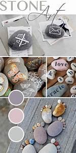 Basteln Mit Steinen : gingered things diy deko wohndesign kunst mit ~ Watch28wear.com Haus und Dekorationen