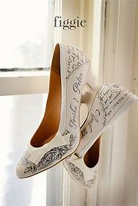 personalized quotlove letterquot shoes hand painted by figgie With personalized love letters