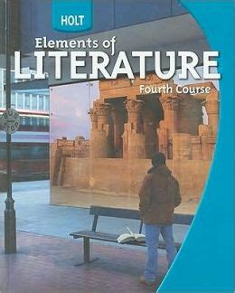Holt Elements Of Literature Student Edition Grade 10 Fourth Course 2009  Edition 1 By Houghton