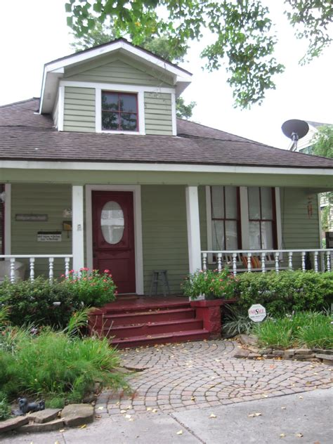 the other houston 1930 front porch bungalow