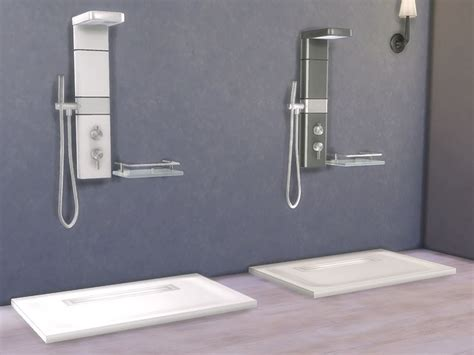 bathroom zing shower   tsr category sims