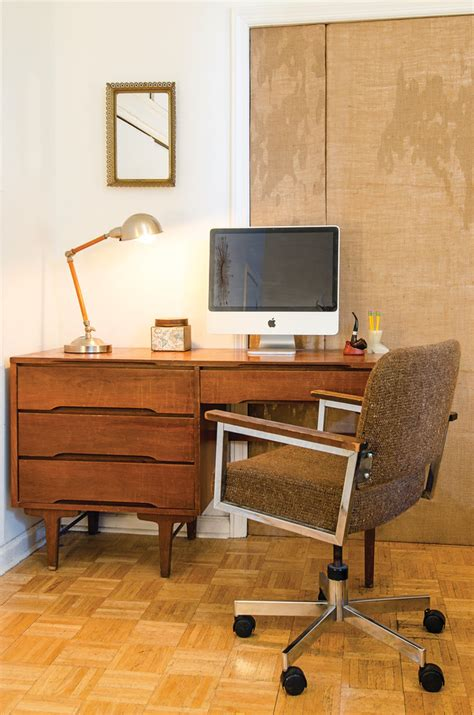 mid century office desk mid century desk home office modern with book bookcase
