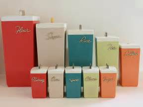 photo - Retro Canisters Kitchen