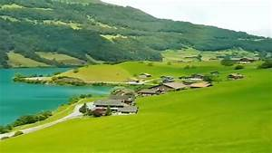 Amazing View of Lungern, Switzerland from Train - YouTube