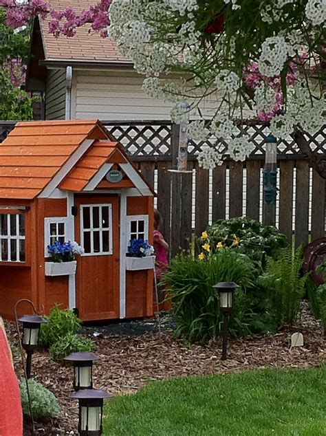 Backyard Cottage Playhouse - woodwork backyard cottage playhouse plans pdf plans