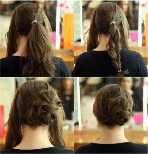 creative hairstyles    easily   home