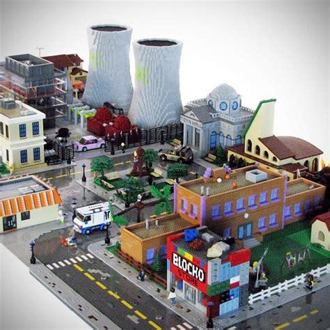 custom lego simpsons treehouse of horror custom set