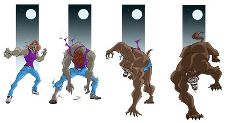 Werewolf Transformation Sequence