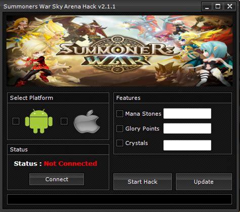 hacks cracks cheats keygens summoners war sky arena