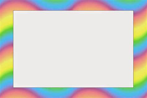 marcos invitaciones tarjetas o etiquetas de pocoyo with rainbow background free printable invitations oh my baby
