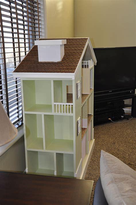 Dollhouse Bookcase by White My Bookshelf Dollhouse Diy Projects