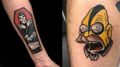 Badass Misfits Tattoos - Tattoo Ideas, Artists and Models