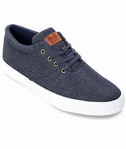 Diamond Supply Co. Torey Denim & White Skate Shoes