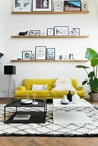 Tapis Jaune Et Noir : tapis noir et jaune 15 id es de d coration int rieure french decor ~ Teatrodelosmanantiales.com Idées de Décoration