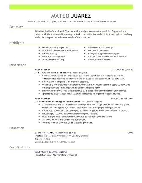 resume template australia 2018 best resume exles