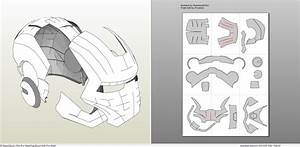 iron man mark 2 full armor foam pepakuraeu With iron man foam armor templates