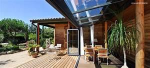 veranda sur mesure pour votre nouvelle piece de vie With veranda sur terrasse bois