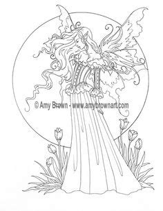 SET of 2 FAIRIES Digital Downloads by Amy Brown Coloring