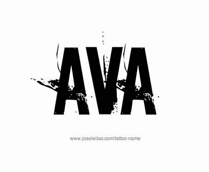 Ava Tattoo Designs Female