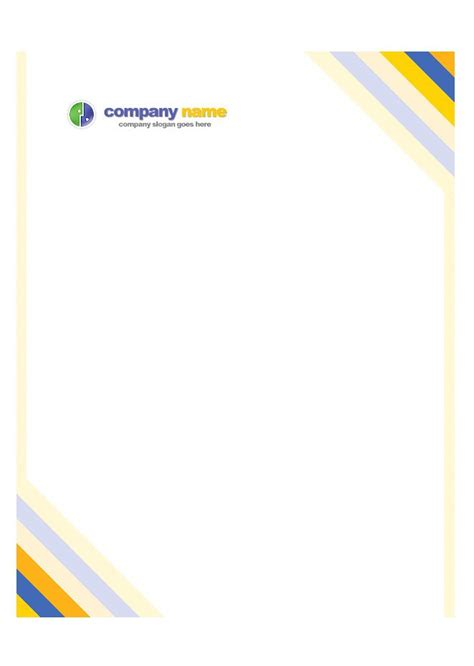 Company Stationery Template Pages by 46 Free Letterhead Templates Exles Free Template
