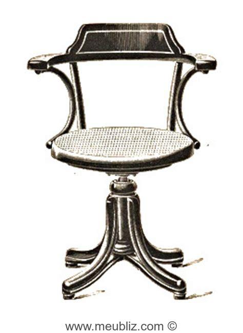 siege thonet fauteuil de bureau à vis n 5503 par michael thonet