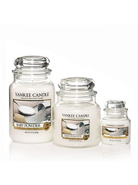 baby powder scent yankee candle baby powder scented candles house of fraser 1417