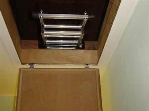 Escalier Escamotable Grenier : escalier escamotable ~ Melissatoandfro.com Idées de Décoration