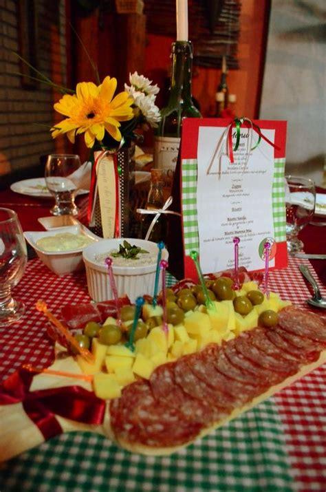 italian dinner table decoration antipasto tables