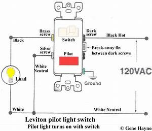 Cooper 277 Pilot Light Switch  With Images