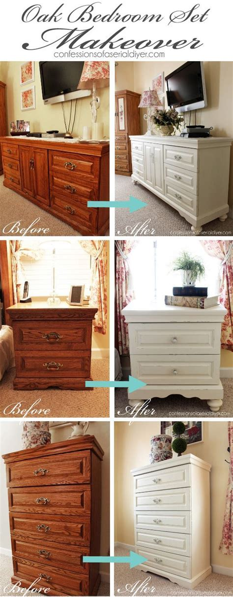 Bedroom Painting Ideas Diy by Best 20 Paint Bedroom Furniture Ideas On How